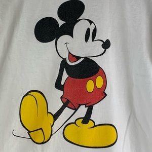 Mickey Mouse T Shirt Large Mens Disney Graphic